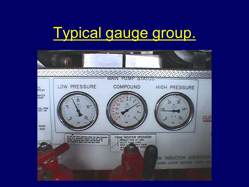 Typical gauge group.