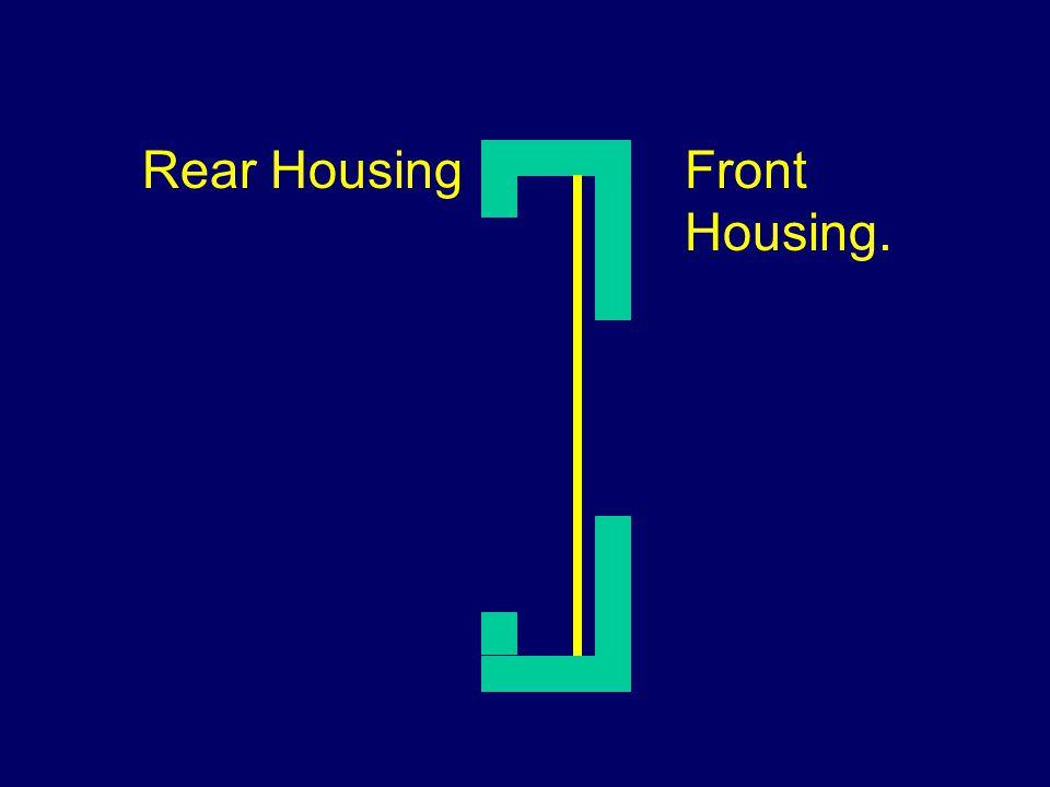 Rear Housing Front Housing.