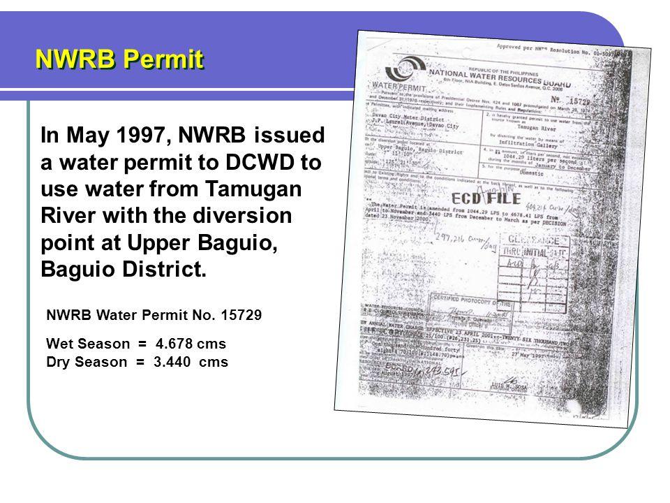 NWRB Permit