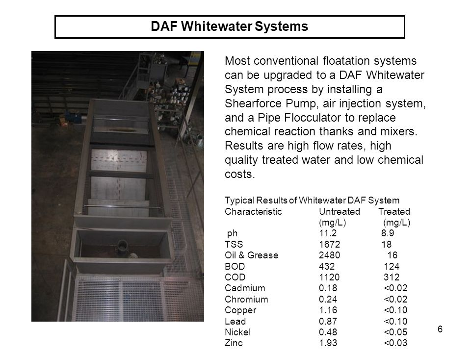 DAF Whitewater Systems