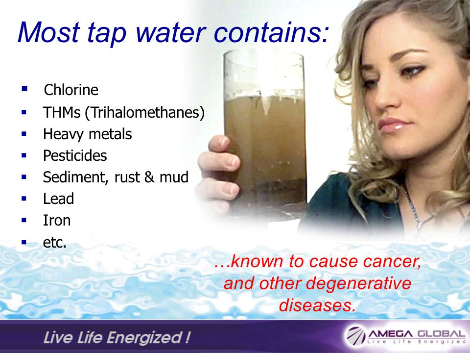 …known to cause cancer, and other degenerative diseases.