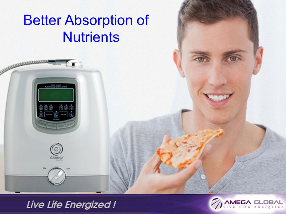 Better Absorption of Nutrients