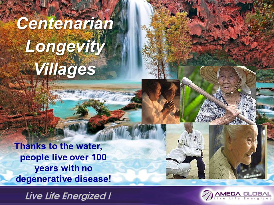 Centenarian Longevity Villages