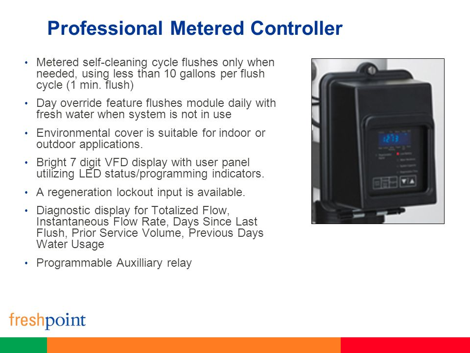 Professional Metered Controller