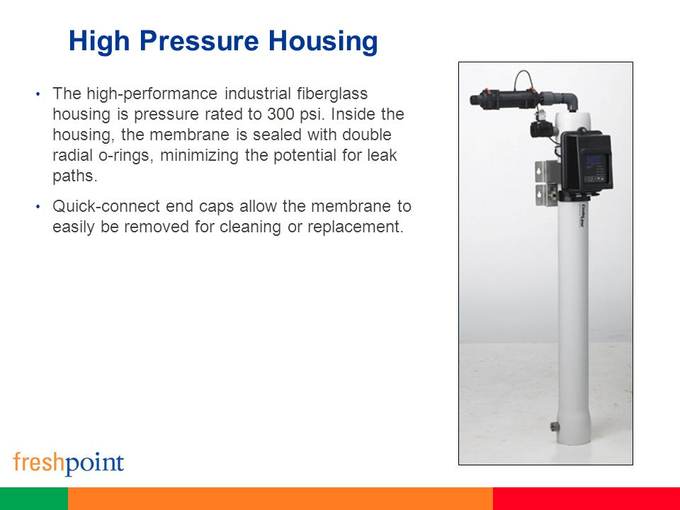 High Pressure Housing