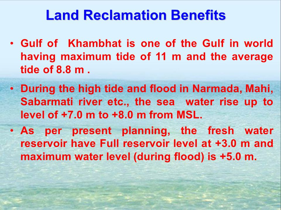 Land Reclamation Benefits