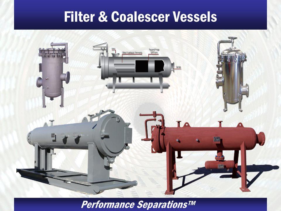 Filter & Coalescer Vessels
