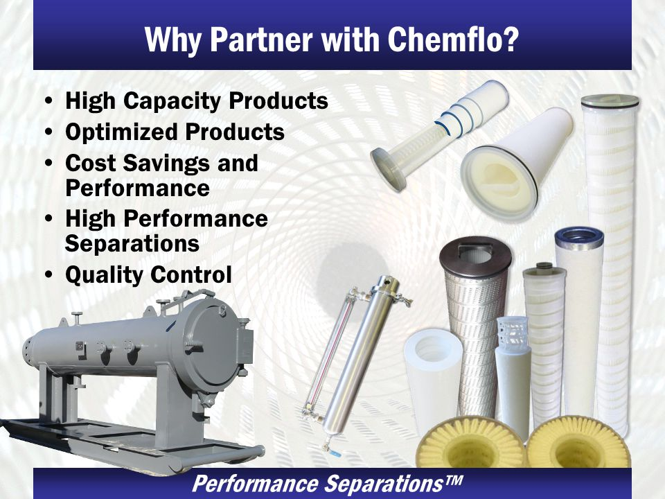 Why Partner with Chemflo