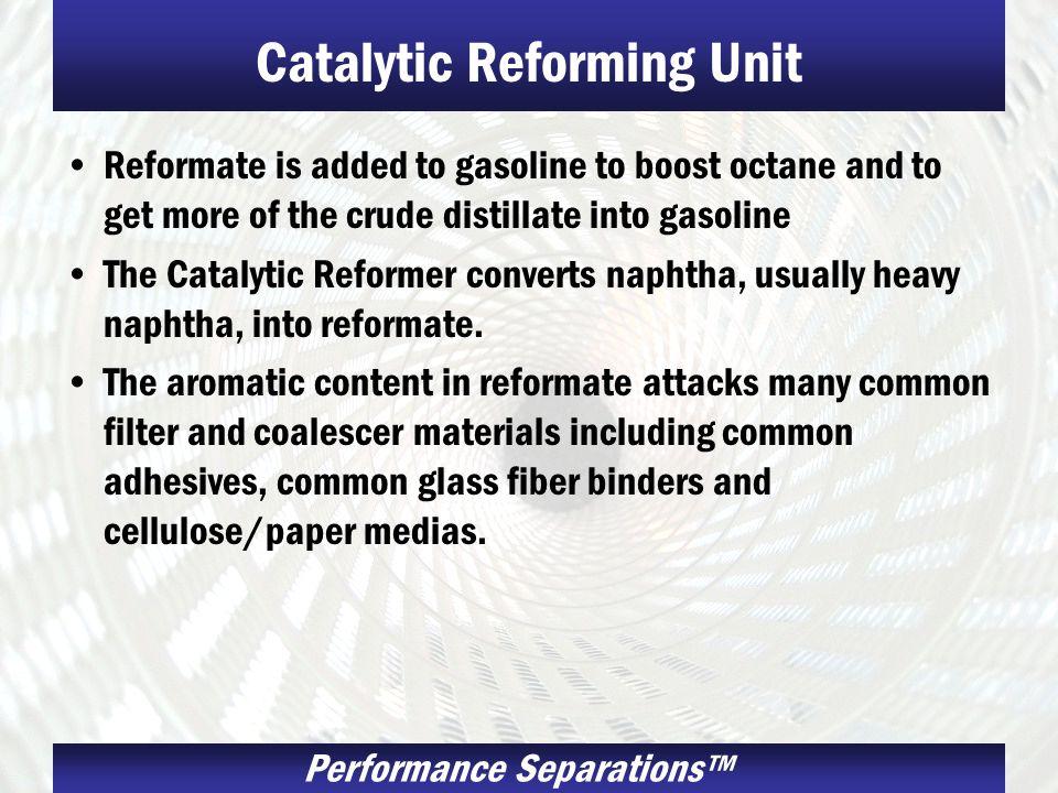 Catalytic Reforming Unit