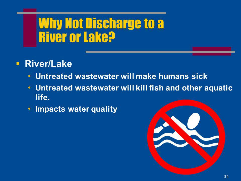 Why Not Discharge to a River or Lake