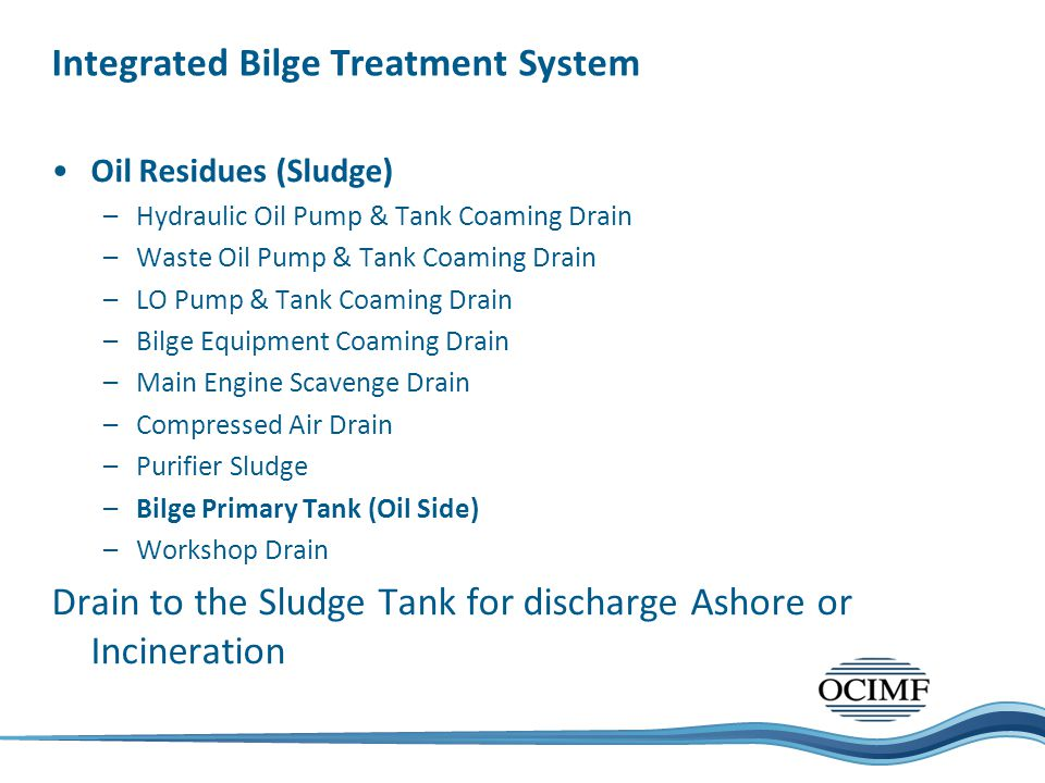 Integrated Bilge Treatment System