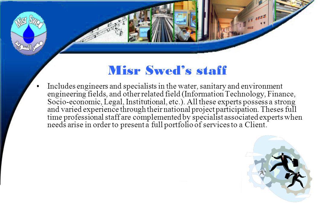 Misr Swed's staff