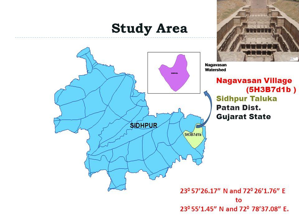 Study Area Patan Dist. Sidhpur Taluka Nagavasan Village (5H3B7d1b )