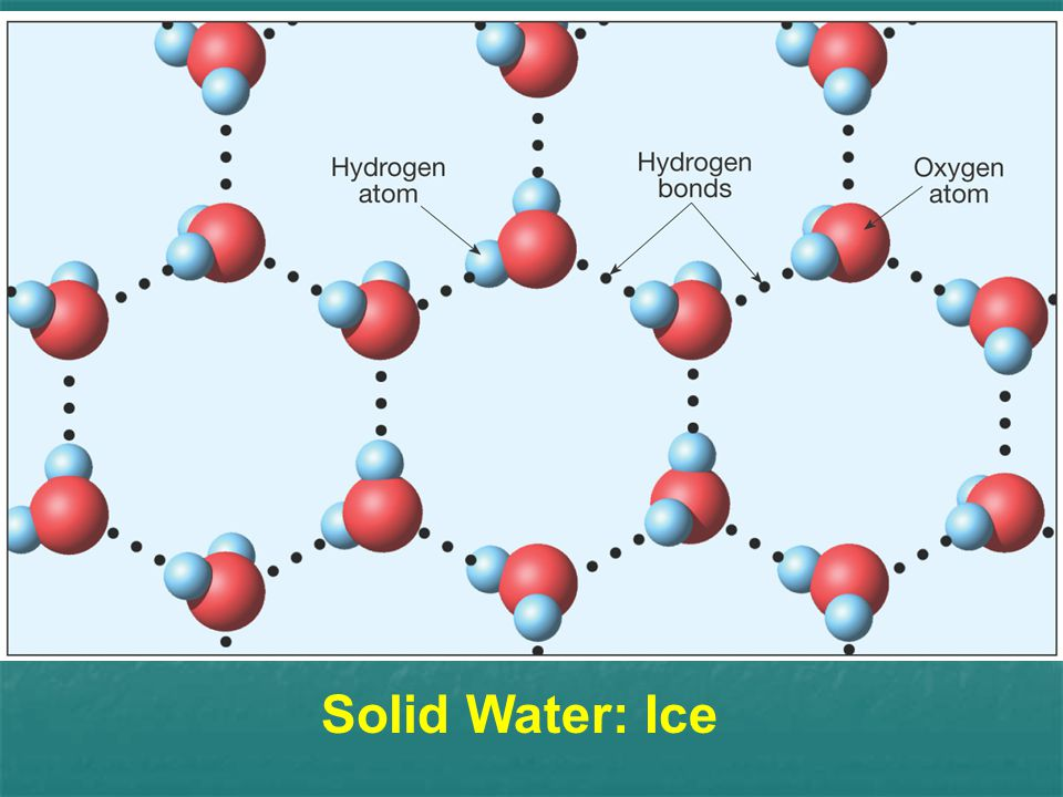 Solid Water: Ice
