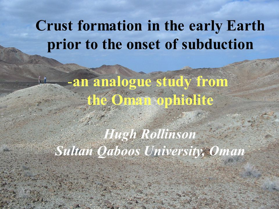 Crust formation in the early Earth prior to the onset of subduction