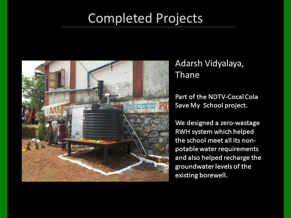 Completed Projects Adarsh Vidyalaya, Thane