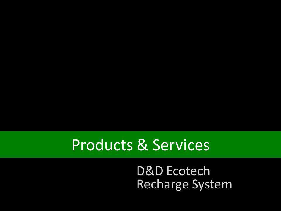 Products & Services D&D Ecotech Recharge System