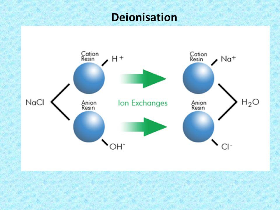 Deionisation