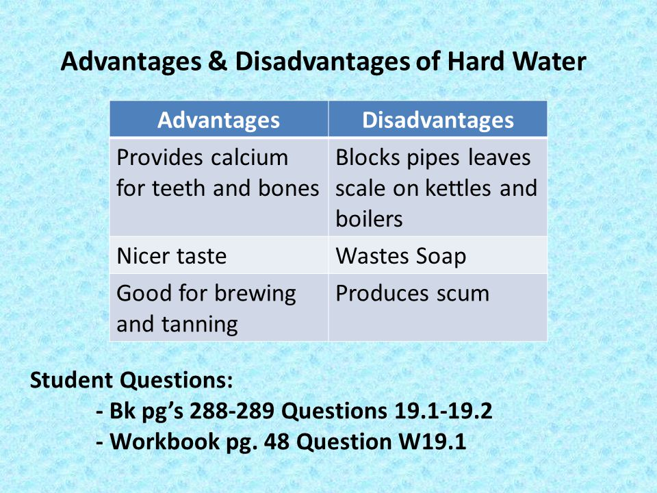 advantages and disadvantages of fluoridating water Fluoride supplements - nhs.