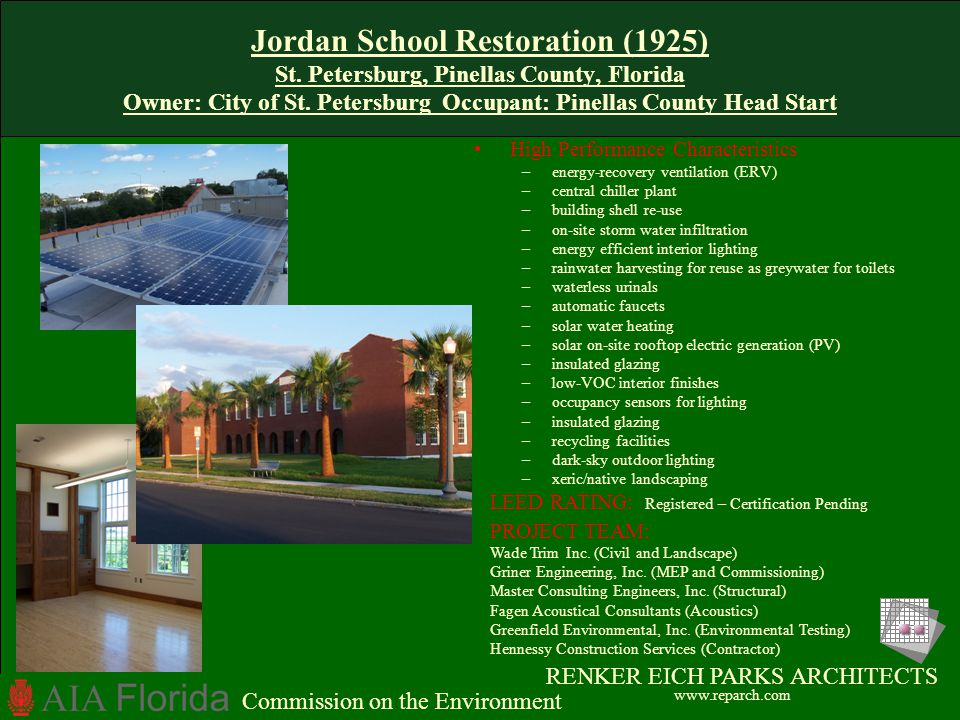 Jordan School Restoration (1925) St