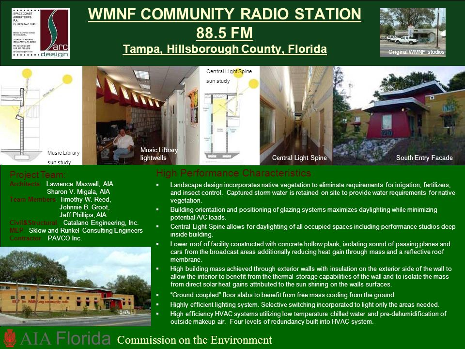 WMNF COMMUNITY RADIO STATION 88