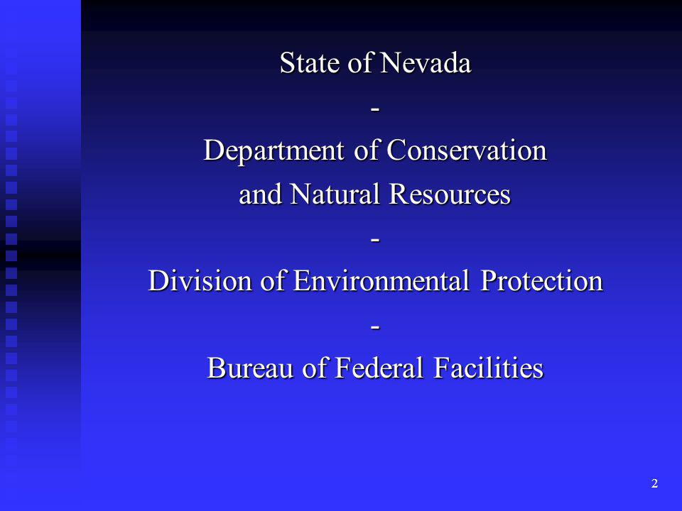 Department of Conservation and Natural Resources