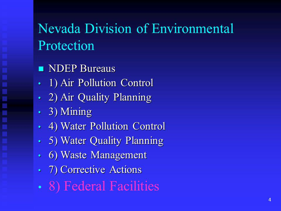 Nevada Division of Environmental Protection