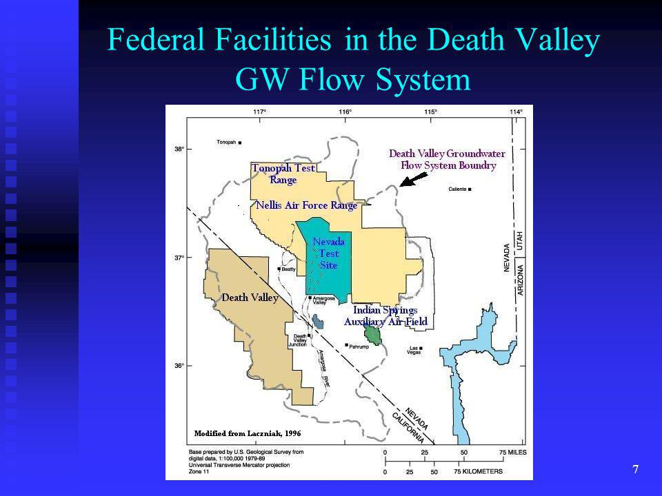 Federal Facilities in the Death Valley GW Flow System