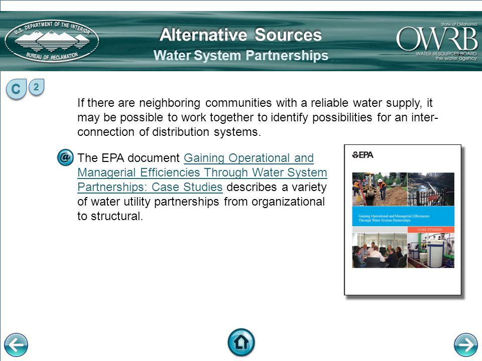 Water System Partnerships