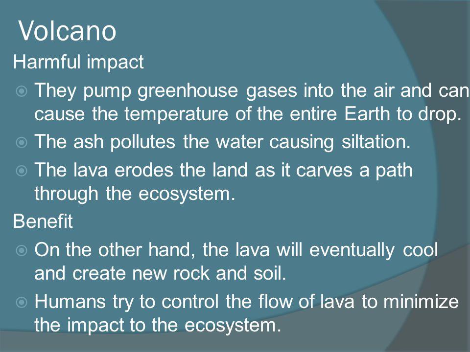 Volcano Harmful impact