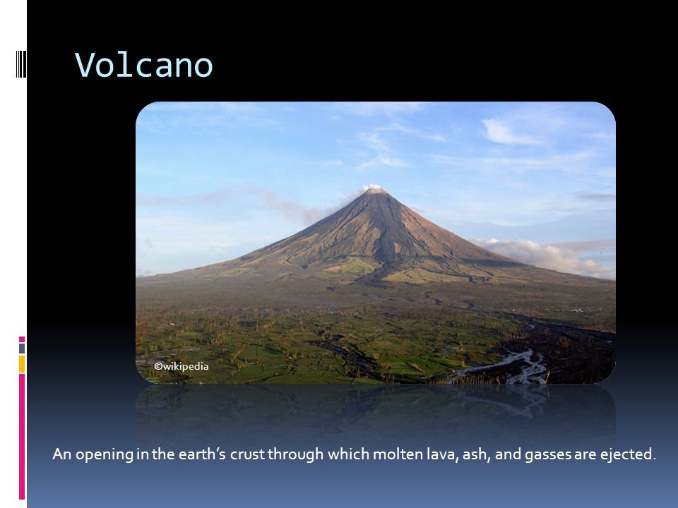 Volcano ©wikipedia.