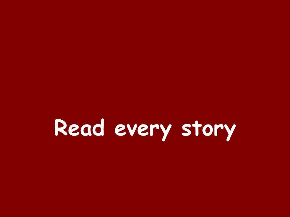 Read every story