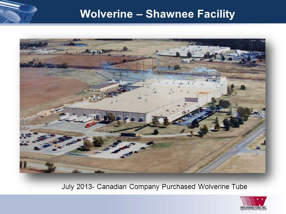 Wolverine – Shawnee Facility