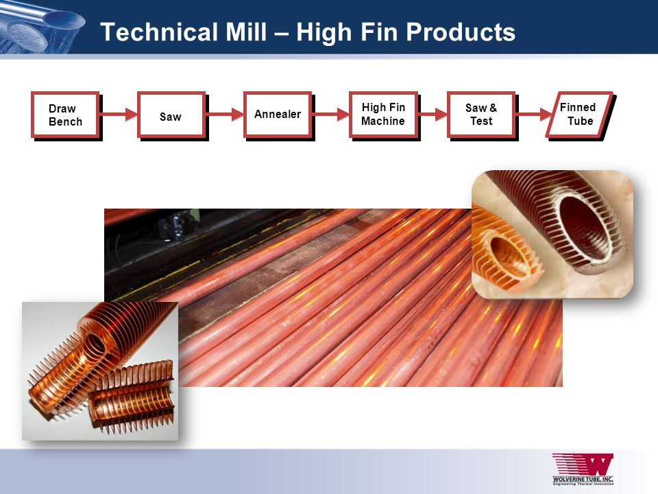 Technical Mill – High Fin Products