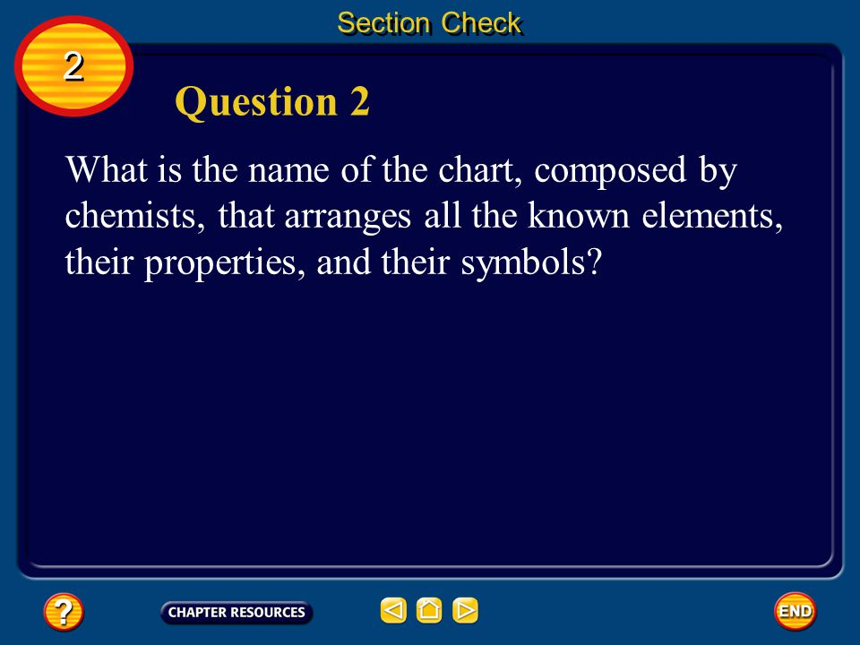 Section Check 2. Question 2.