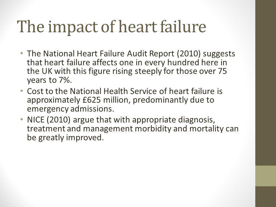 The impact of heart failure