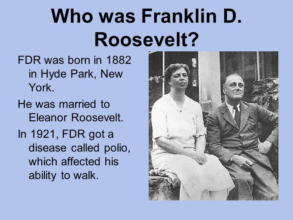 Who was Franklin D. Roosevelt