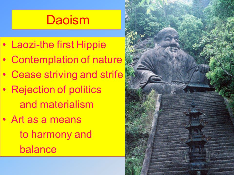Daoism Laozi-the first Hippie Contemplation of nature