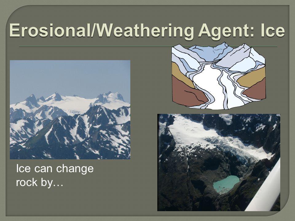 Erosional/Weathering Agent: Ice
