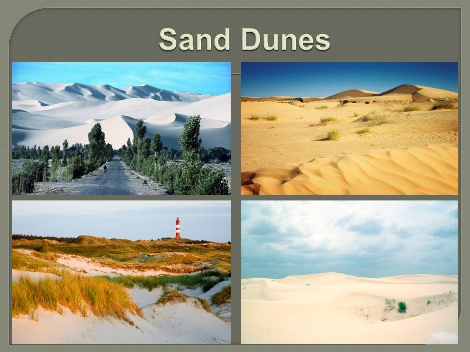 Sand Dunes Photo credits: Gobi Desert; http://office.microsoft.com Sahara Desert; http://office.microsoft.com.