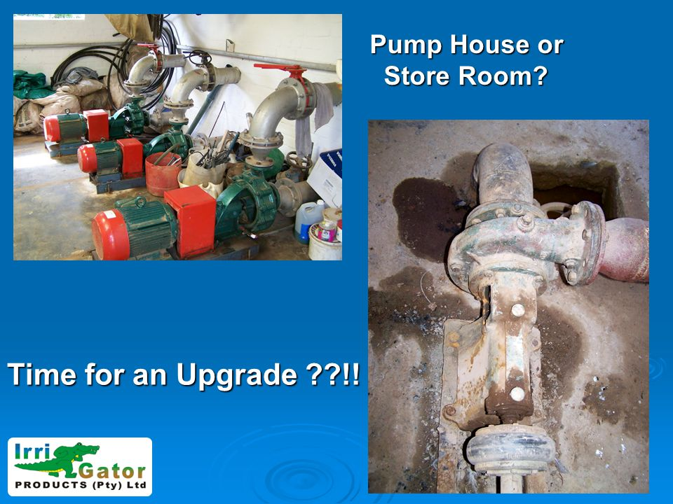 Pump House or Store Room