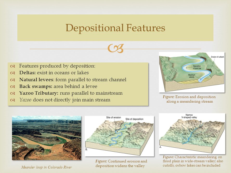 Depositional Features