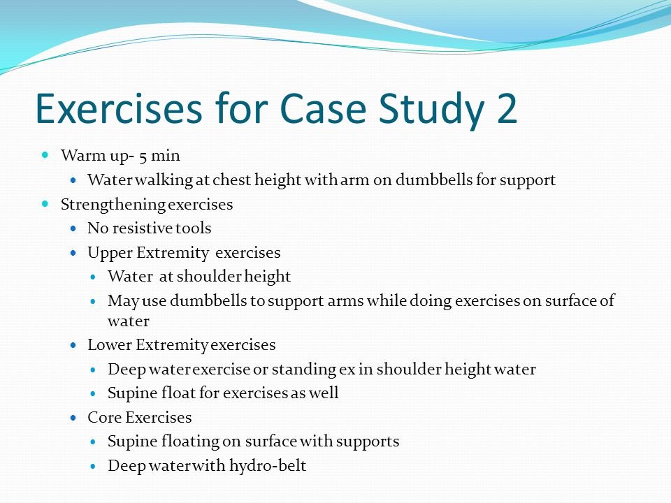 Exercises for Case Study 2