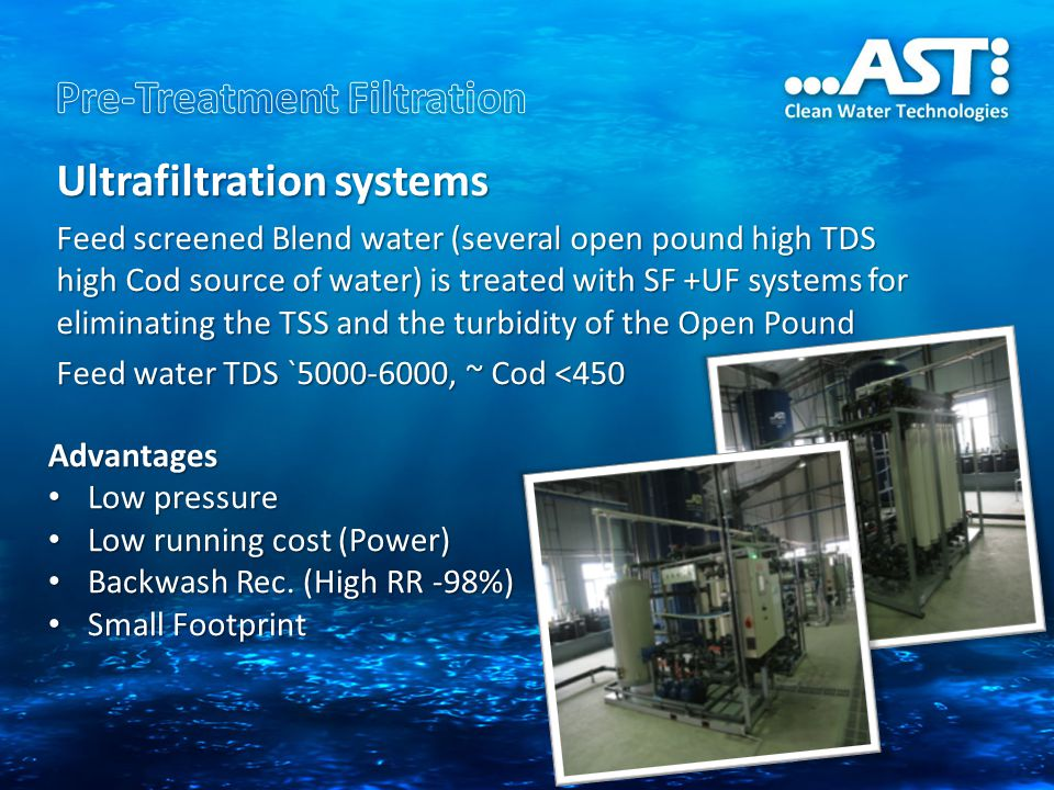 Pre-Treatment Filtration