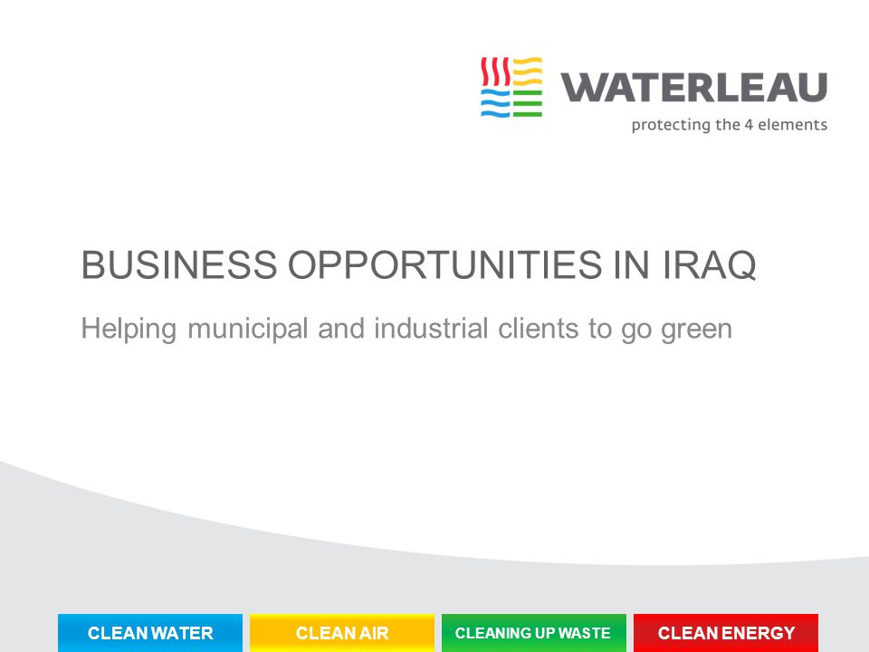 Business opportunities in iraq