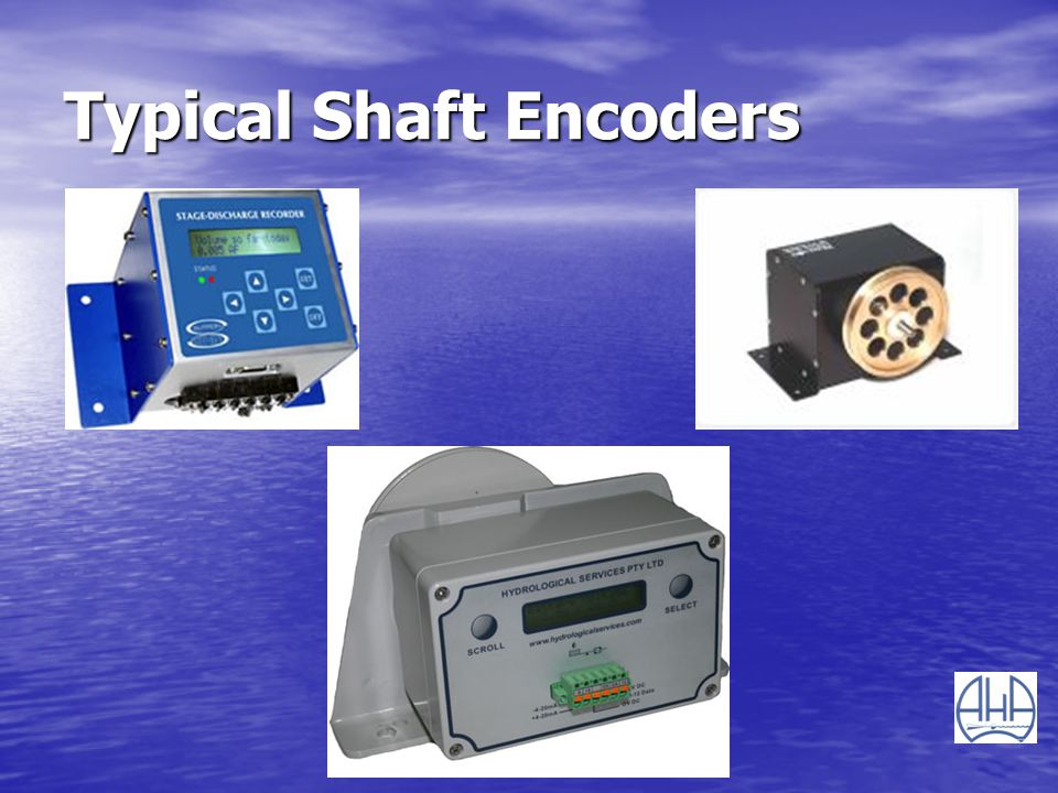 Typical Shaft Encoders