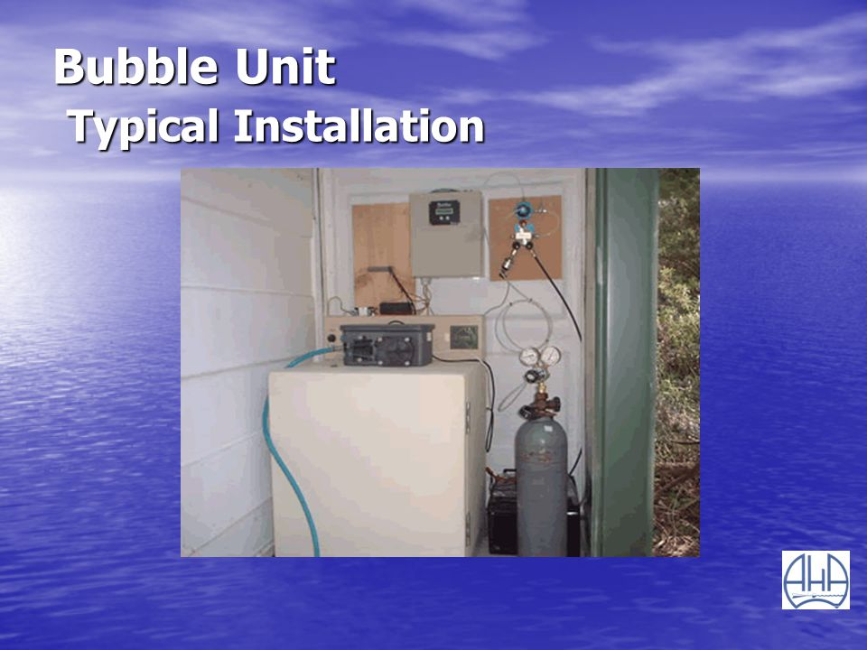 Bubble Unit Typical Installation
