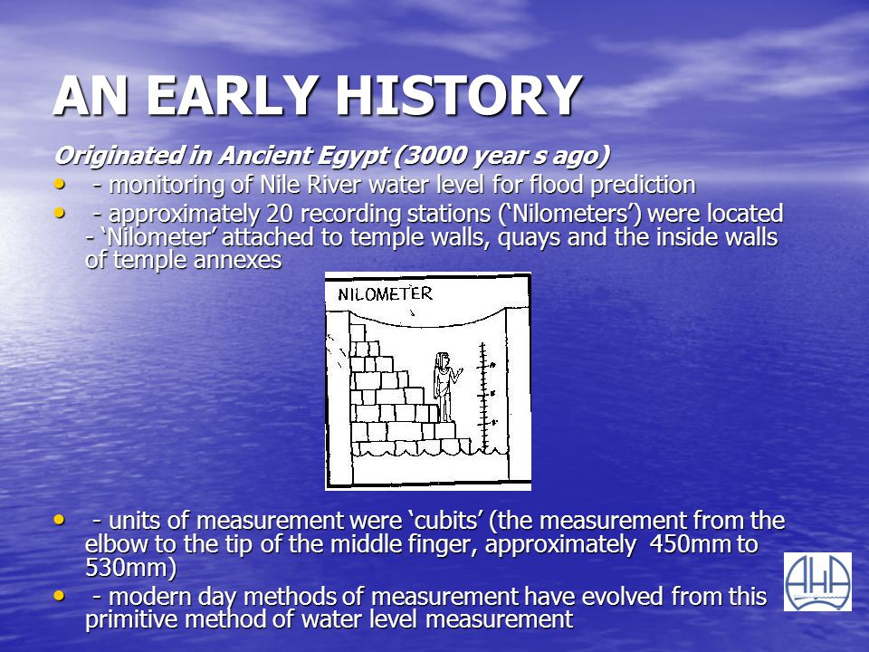 AN EARLY HISTORY Originated in Ancient Egypt (3000 year s ago)