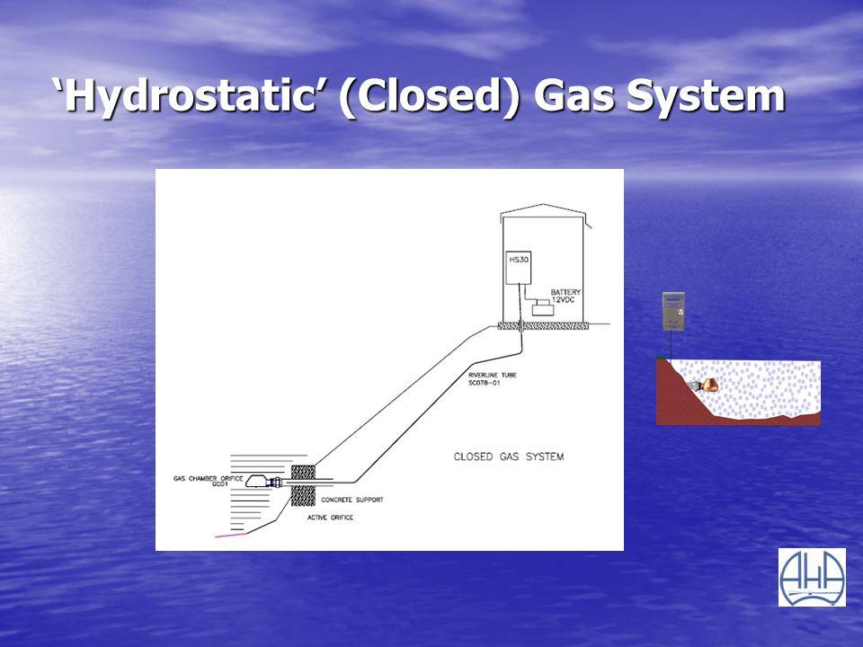 'Hydrostatic' (Closed) Gas System