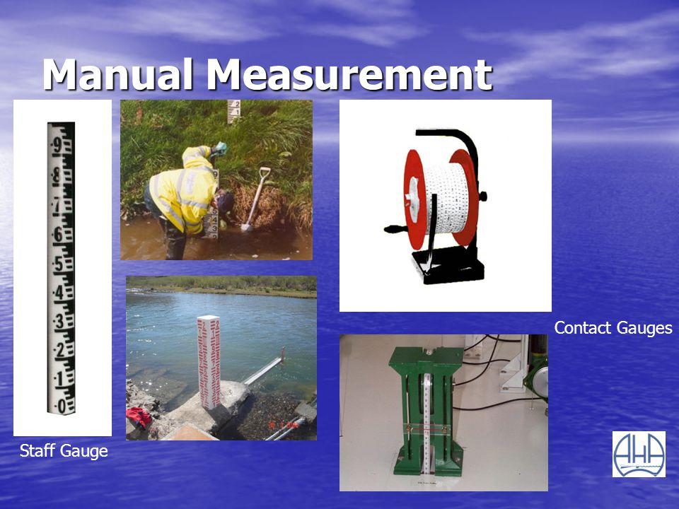 Manual Measurement Contact Gauges Staff Gauge